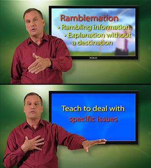 Teaching to Transform Not Inform - Ramblemation