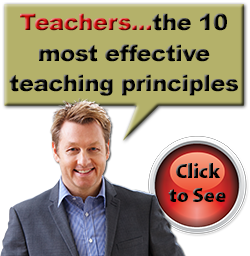 Teachers...the 10 most effective teaching principles