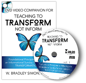 DVD Video Companion for Teaching to Transform Not Inform 1